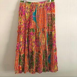NYGARD collection boho hippie maxi skirt